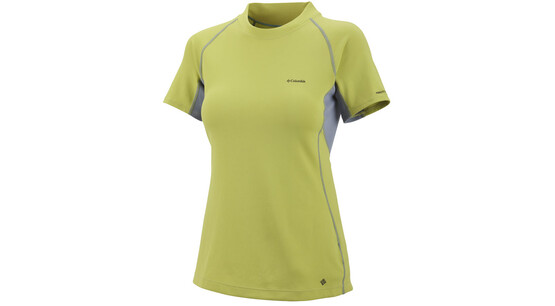 COLUMBIA Bug Shield Sporty Top MC chartreuse
